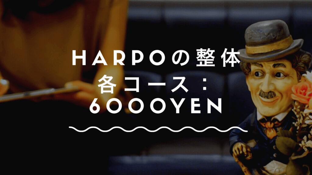 harpoの料金説明画像